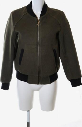 BLEIFREI Lifewear Bomberjacke in S in khaki / schwarz, Produktansicht