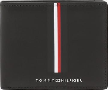TOMMY HILFIGER Portemonnaie in Schwarz