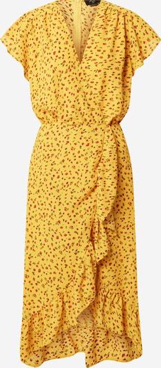 AX Paris Robe en jaune / sapin / rouge, Vue avec produit