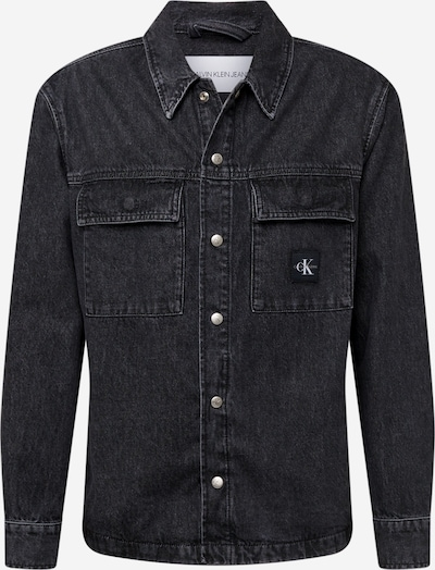 Calvin Klein Jeans Tussenjas in de kleur Black denim, Productweergave
