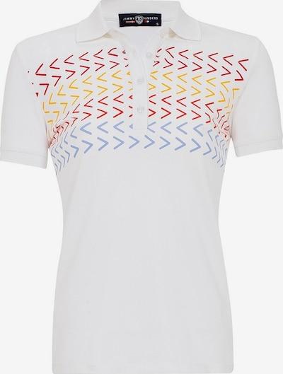 Jimmy Sanders Shirt 'Susanna' in blau / gelb / rot / weiß, Produktansicht