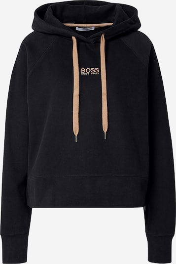 BOSS Sweatshirt 'Elisa' in honey / black, Item view