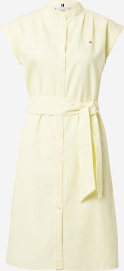 TOMMY HILFIGER Košilové šaty - pastelově žlutá, Produkt