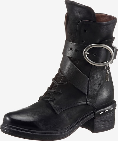 A.S.98 T-Bar Sandals in Black, Item view