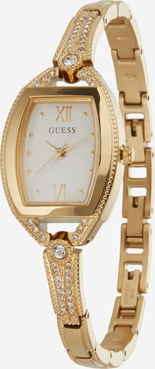 GUESS Analog watch 'BELLA' in Gold / White, Item view