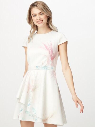 Ted Baker Kleid 'Olivi' in hellblau / pastellpink / weiß, Modelansicht