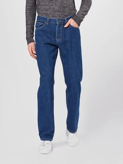 Urban Classics Jeans i blå denim, På modell
