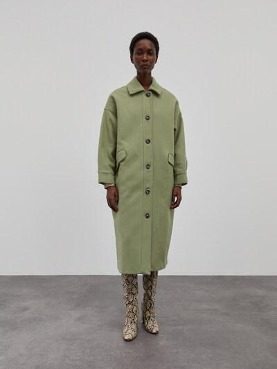 EDITED Mantel 'Marianna' in pastellgrün, Modelansicht