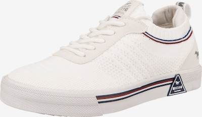 MUSTANG Sneakers in Navy / Ruby red / White, Item view
