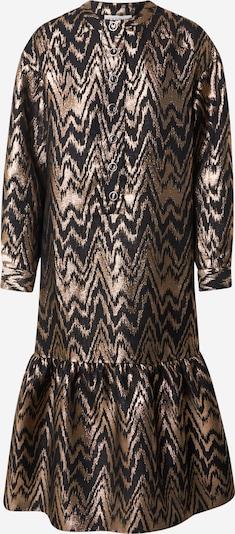 Cecilie Copenhagen Kleid 'Marina' in braun / gold, Produktansicht