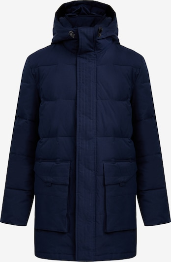 Finn Flare Steppmantel in blau, Produktansicht