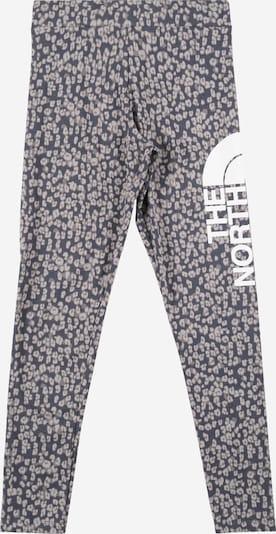 Pantaloni sport THE NORTH FACE pe gri / alb, Vizualizare produs