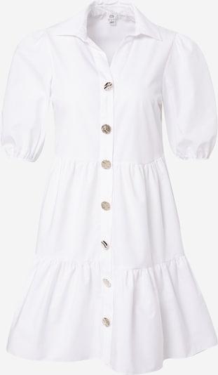 Rochie tip bluză River Island pe alb murdar, Vizualizare produs