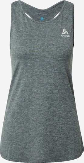 ODLO Haut de sport en gris basalte / gris clair, Vue avec produit