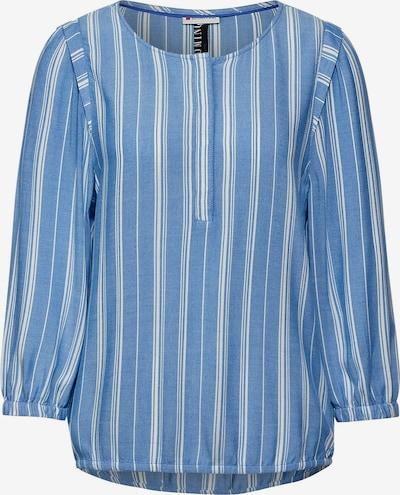 STREET ONE Bluse in himmelblau / weiß, Produktansicht
