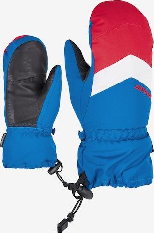 ZIENER Skihandschuh 'LETTERO AS(R)' in Blau
