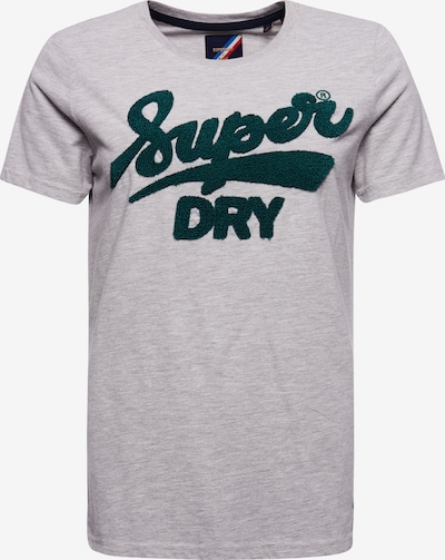 Superdry Shirt in de kleur Grijs gemêleerd: Vooraanzicht