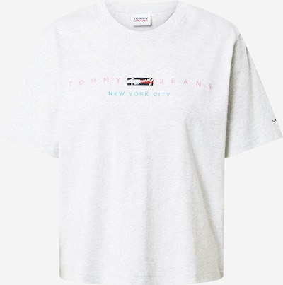 Tommy Jeans Tričko - námornícka modrá / svetlosivá / červená, Produkt