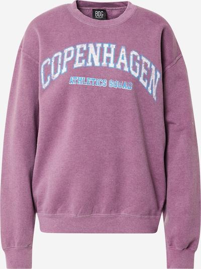 BDG Urban Outfitters Sweatshirt 'COPENHAGEN' in blau / lila / weiß, Produktansicht