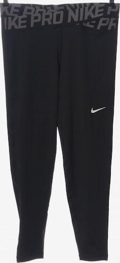 NIKE Leggings in L in hellgrau / schwarz, Produktansicht