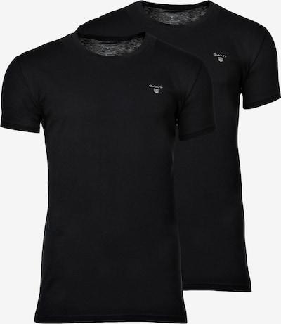 GANT T-Shirt in schwarz, Produktansicht