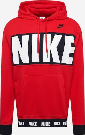 piros / fekete / fehér Nike Sportswear Tréning póló, Termék nézet