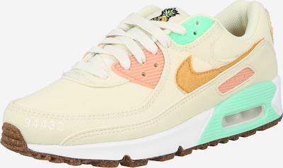 Nike Sportswear Låg sneaker 'Air Max 90 LX' i beige / brun / rosa, Produktvy