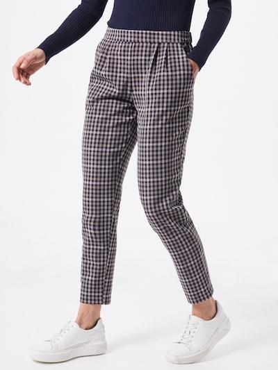 Pantaloni con pieghe VILA di colore blu / marrone, Visualizzazione modelli