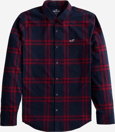 HOLLISTER Koszula w kolorze granatowy / czerwonym, Podgląd produktu