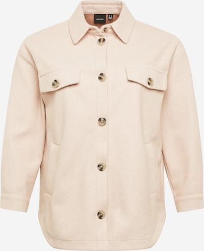 Vero Moda Curve Between-seasons coat in Cream / Sepia, Item view