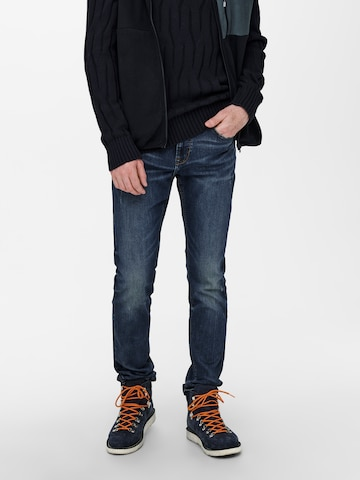Only & Sons Jeans 'Weft' in Blue