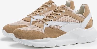 BRAX Sneaker 'Camilla' in braun / hellbraun / weiß, Produktansicht