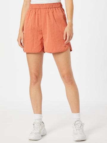 JUST FEMALE Broek 'Wish' in Oranje