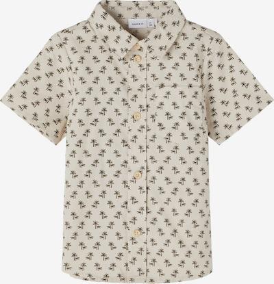 NAME IT Koszula 'Halme' w kolorze beżowy / ciemnozielonym, Podgląd produktu