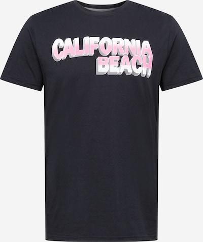 !Solid Majica 'Rick' | roza / črna / bela barva: Frontalni pogled