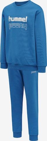 Hummel Trainingsanzug in Blau