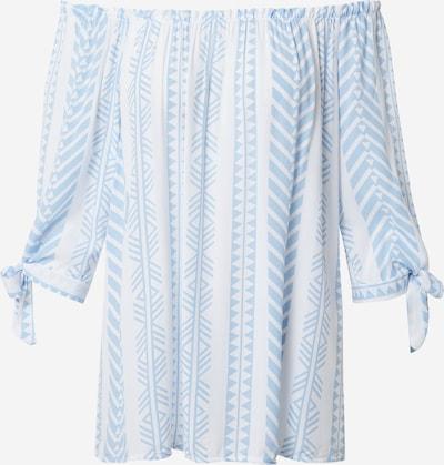 Tricou 'Lotty' Hailys pe albastru deschis / alb, Vizualizare produs