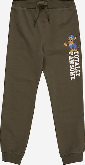 Kelnės iš NAME IT , spalva - rusvai žalia / mišrios spalvos, Prekių apžvalga