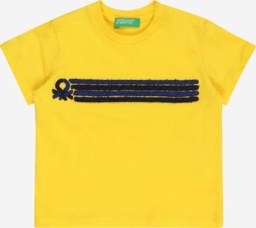 UNITED COLORS OF BENETTON Särk, värv kollane