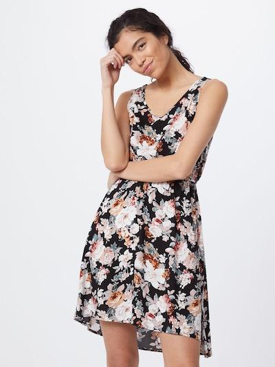 ONLY Vestido de verano 'SARA' en mezcla de colores / negro, Vista del modelo