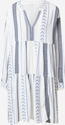 Flowers for Friends Kleid 'Kufiya' in blau / weiß, Produktansicht