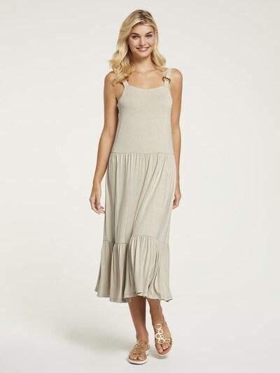 heine Kleid in sand, Modelansicht
