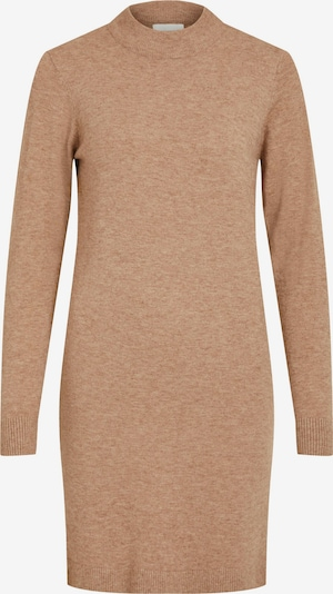 OBJECT Knitted dress 'THESS' in Light brown, Item view