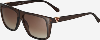 Ochelari de soare GUESS pe maro, Vizualizare produs