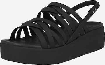 Crocs Classic Flats 'Brooklyn' in Black