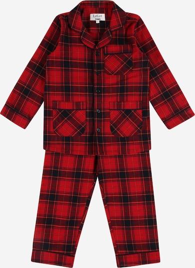 LeGer by Lena Gercke Pyjama 'Fee' en rouge / noir, Vue avec produit