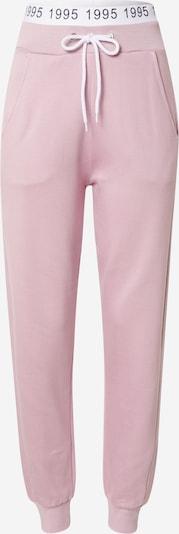 Pantaloni 'MILA' ONLY pe roz / negru / alb, Vizualizare produs