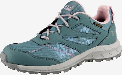JACK WOLFSKIN Chaussure basse 'Woodland' en bleu pastel / bleu clair / rose, Vue avec produit