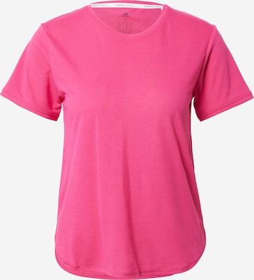 ADIDAS PERFORMANCE Funksjonsskjorte 'Go To' i rosa