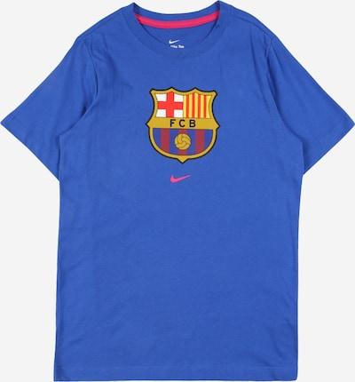 NIKE Sport-Shirt in royalblau / gelb / rostrot / schwarz, Produktansicht